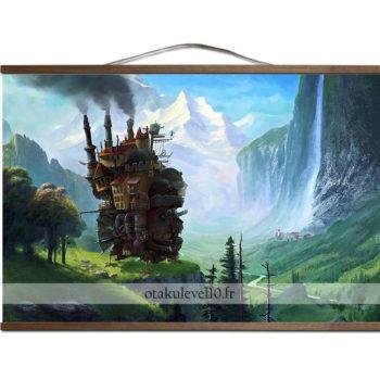 Poster canevas le château ambulant