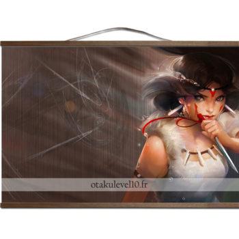 Poster canevas Ghibli San brown