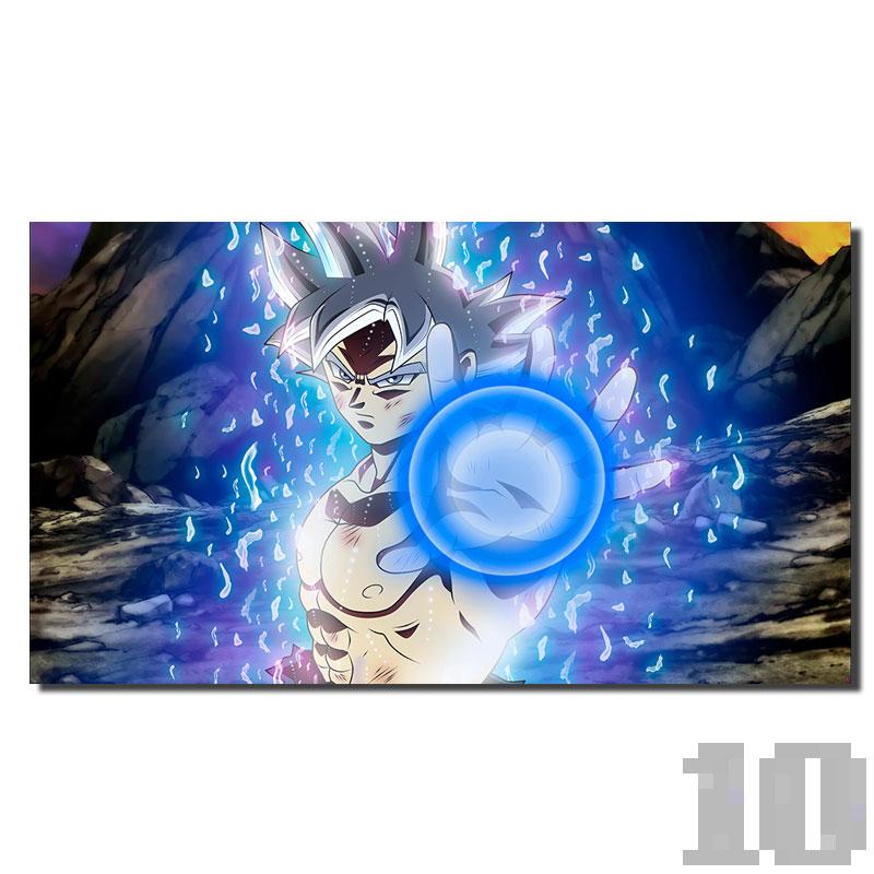Poster San Goku karma attaque