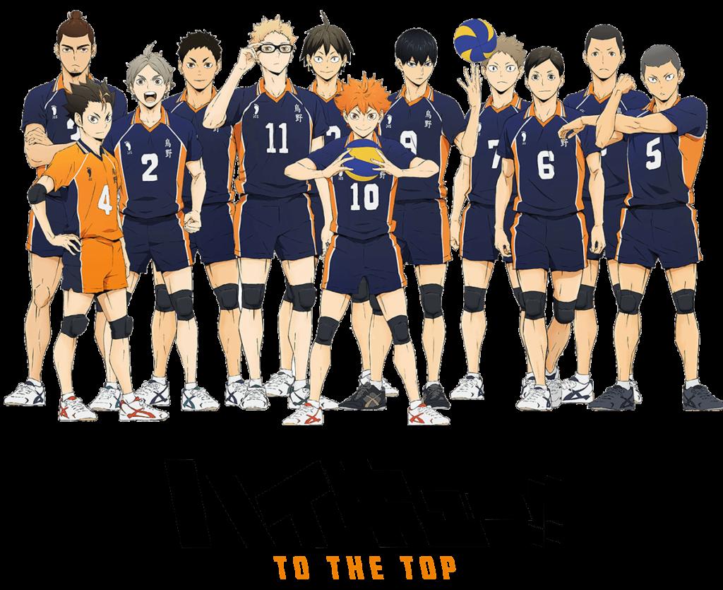 Haikyuu saison 4 liste des personnages