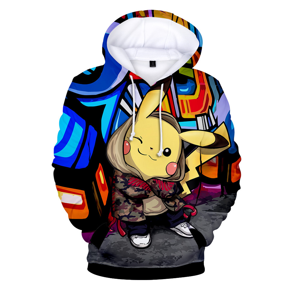 Pull enfant Pokemon Urban Pika