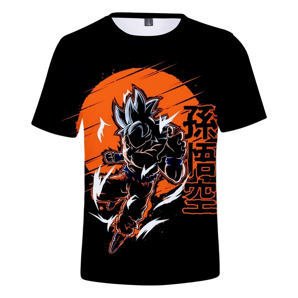 Tee shirt enfant Dragon Ball action